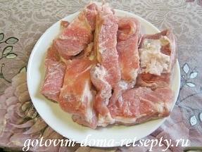 свиные ребрышки в соевом соусе в мультиварке 2