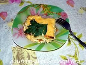 картошка по-французски в духовке, рецепт с курицей