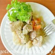 Мясо тушеное с овощами в мультиварке