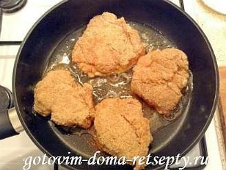как приготовить куриный шницель 9