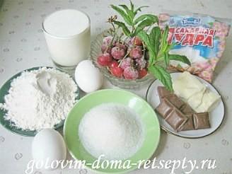профитроли со сливками и шоколадом 1