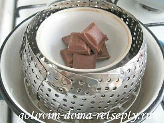 профитроли со сливками и шоколадом 10