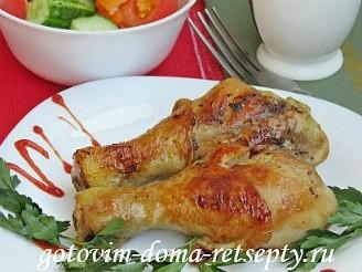 куриные ножки в соевом соусе с медом