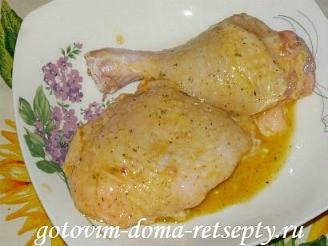 курица жареная в панировке фаршированная чесноком 5