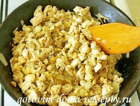 жульен с грибами и курицей в булочках 5