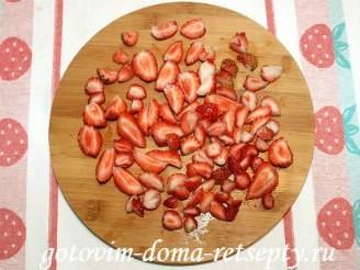 творожный пирог с ягодами, рецепт с фото 13