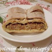 Кулебяка, рецепт с капустой и розмарином