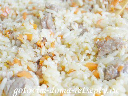 плов из говядины с изюмом и барбарисом, рецепт с фото 11