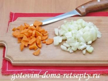ризотто с овощами и мясом в мультиварке 3