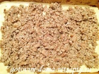 рыбный пирог из консервированной сайры 12
