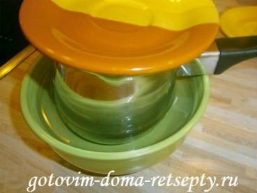 творожный десерт с желатином и маком 6