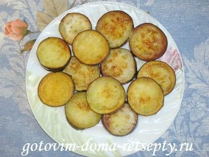 горячие бутерброды с баклажанами помидорами и сыром 1