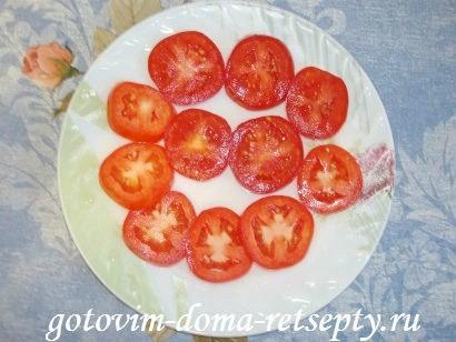 горячие бутерброды с баклажанами помидорами и сыром 2