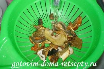 ленивые куриные зразы с сушеными грибами 2