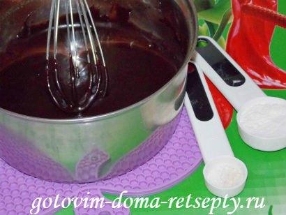 шоколадная помадка из какао с орехами 5