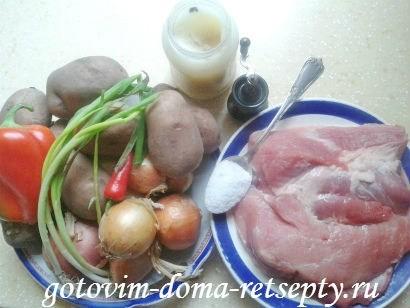 жаркое из свинины по-домашнему 1
