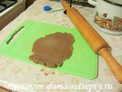 шоколадное печенье пуговки 12