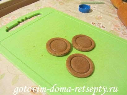 шоколадное печенье пуговки 14