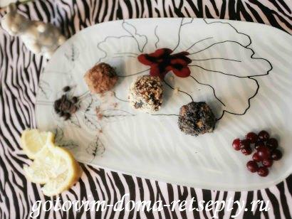 домашние конфеты трюфели 10