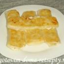 слоеные конвертики с сыром или творогом 13