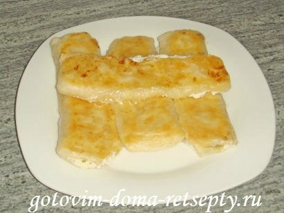 слоеные конвертики с сыром или творогом из готового теста