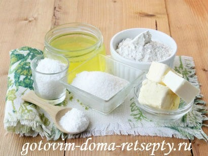 ингредиенты теста для бисквита