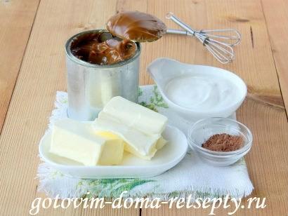 ингредиенты крема для бисквита