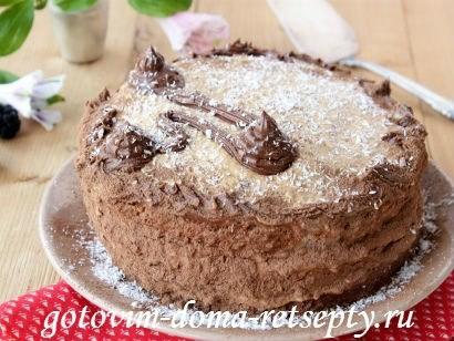 бисквитный торт на белках