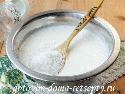 бисквитный торт с кремом 5