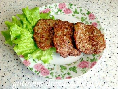 оладьи из куриной печени 13
