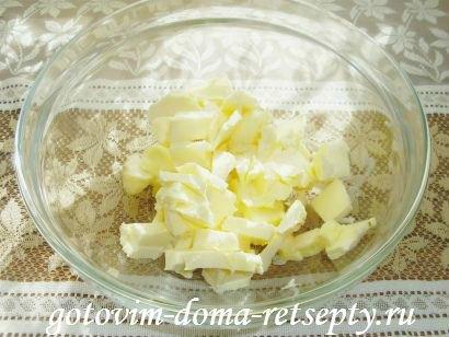 торфяной пирог с творогом и орехами 1