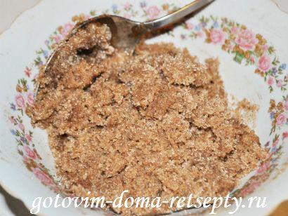 начинка для плюшек с сахаром и корицей
