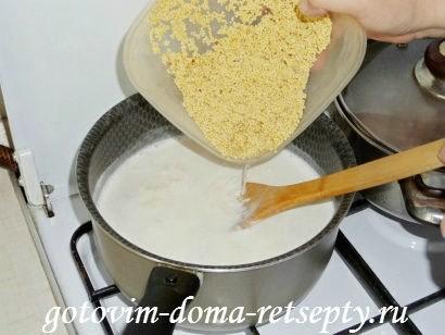 пшенная каша на молоке рецепт 4