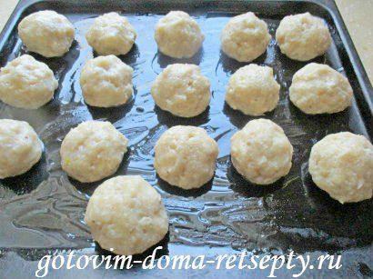 куриные тефтели с сыром и макаронами в томатном соусе 9