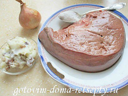 паштет из печени со шкварками 1