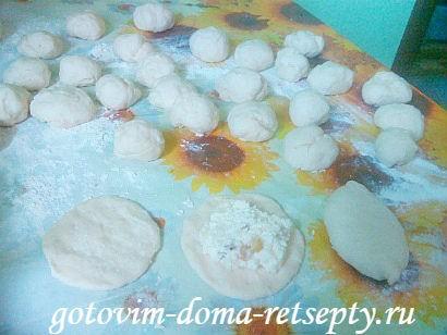 дрожжевые пирожки за 15 минут 5
