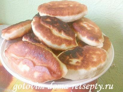 дрожжевые пирожки за 15 минут