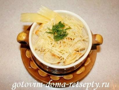 крем-суп из шампиньонов с фото