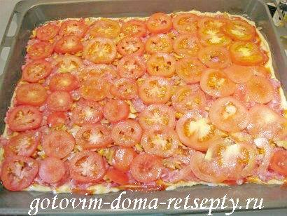 пицца мясная с грибами и помидорами 24