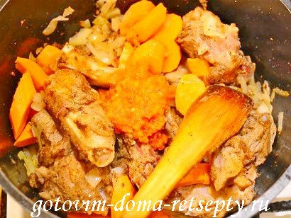 шурпа из баранины рецепт по-узбекски 6