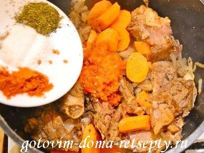 шурпа из баранины рецепт по-узбекски 7