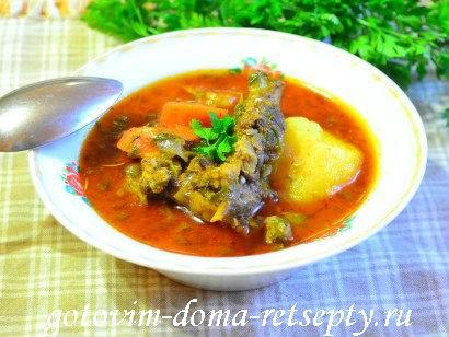 шурпа из баранины рецепт по-узбекски