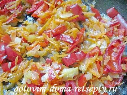 красная рыба с овощами в духовке 8