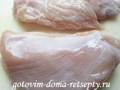 открытый пирог с мясом 2