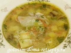 рисовый суп с курицей 13