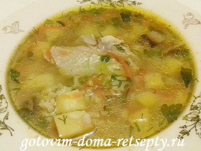 рисовый суп с курицей, рецепт
