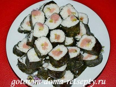 суши рецепт в домашних условиях пошаговый 7
