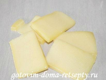 свинина с ананасами и сыром 3
