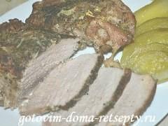 буженина из свинины в фольге в духовке 7