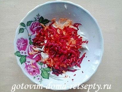 салат щетка рецепт с сухофруктами 5